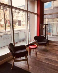 Intérieur Temporis Montréal